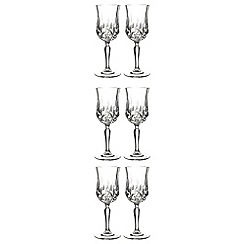 Royal Crystal Rock - Opera set of 6 wine glasses