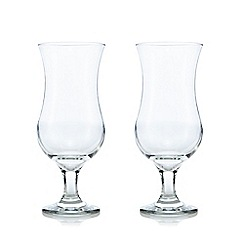 Rayware - Set of two clear cocktail glasses