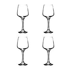 Rayware - Set of four red wine glasses