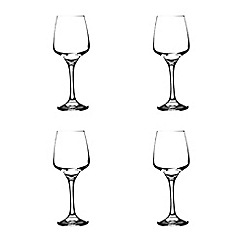 Rayware - Set of four white wine glasses