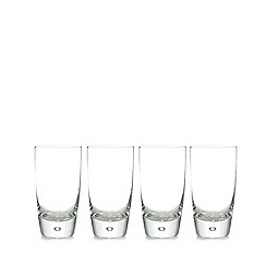 Home Collection - Set of four bubble hiball glasses