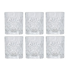 Royal Crystal Rock - Set of six crystal tumblers