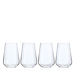 J by Jasper Conran - Set of 4 crystal 'Calvello' highball glasses