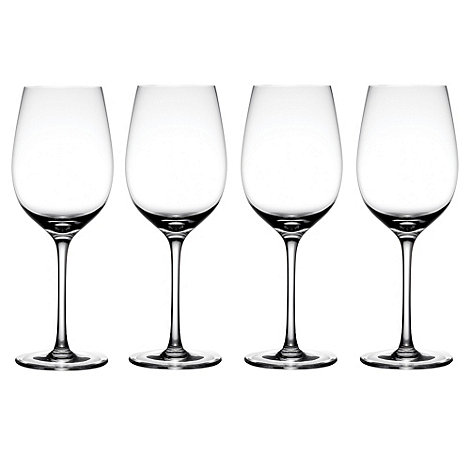 J by Jasper Conran - Set of four +Albany+ large wine glasses