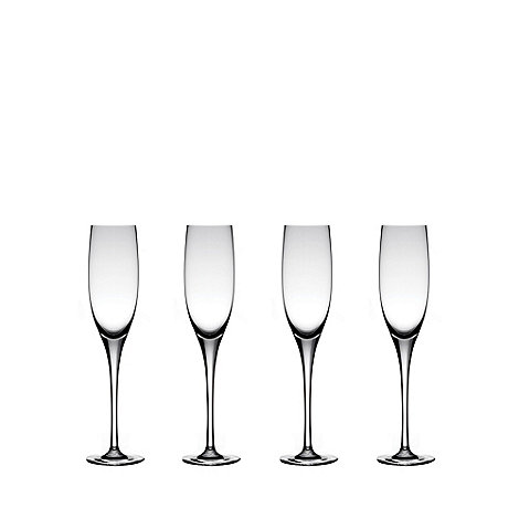 J by Jasper Conran - Set of four +Albany+ champagne flutes