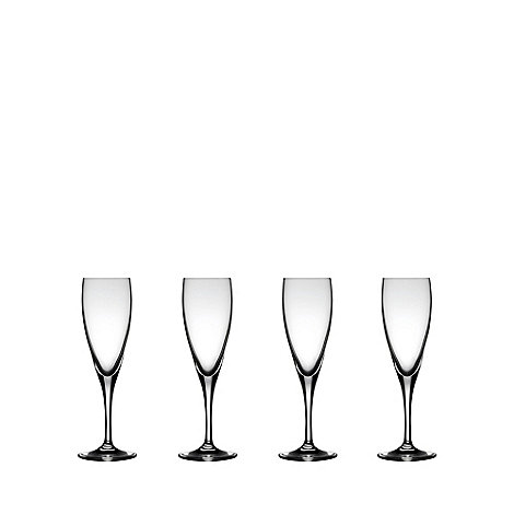 J by Jasper Conran - Set of four +Drummond+ champagne flutes