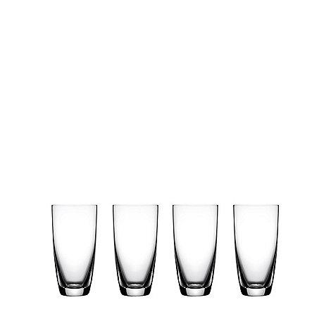 J by Jasper Conran - Set of four +Drummond+ hi-balls