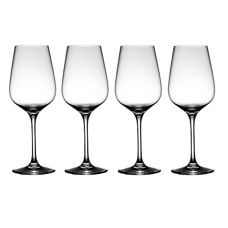 J by Jasper Conran - Set of four +Burlington+ small wine glasses