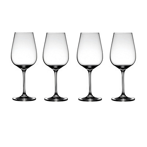 J by Jasper Conran - Set of four +Burlington+ large wine glasses