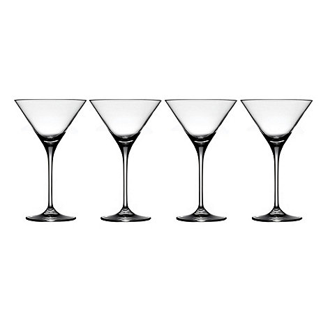 J by Jasper Conran - Set of four designer martini glasses