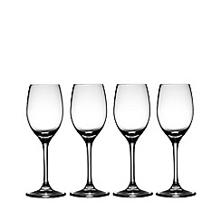 J by Jasper Conran - Set of four designer port glasses