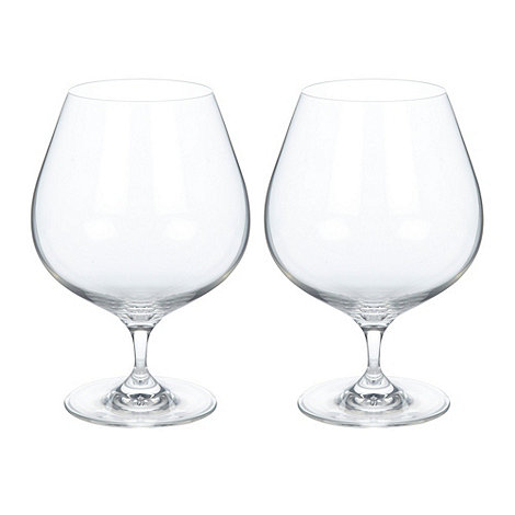 J by Jasper Conran - Set of two designer brandy glasses