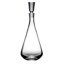 J by Jasper Conran - Tapered designer decanter with stopper