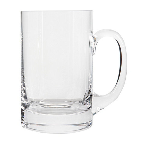 J by Jasper Conran - Glass designer beer tankard