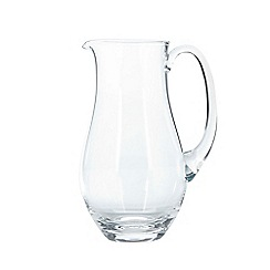 J by Jasper Conran - Large designer curved glass jug