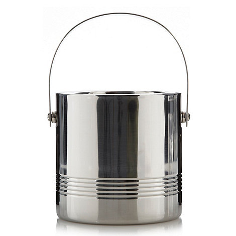 J by Jasper Conran - Designer stainless steel ice bucket