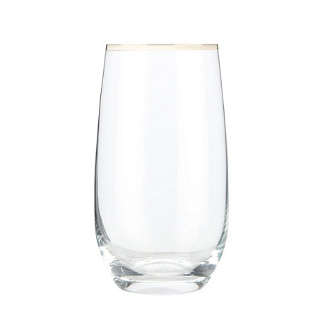 J by Jasper Conran - Individual +Platinum+ hi-ball glass