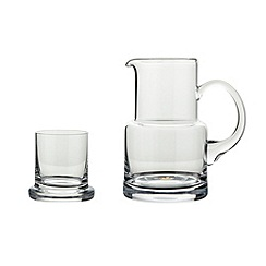J by Jasper Conran - Designer glass carafe and tumbler set