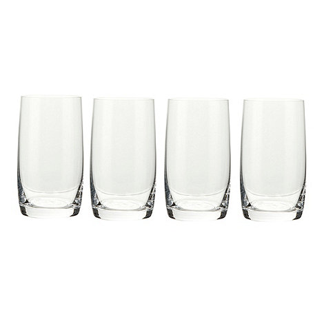 J by Jasper Conran - Designer +Audley+ set of four hi-ball glasses