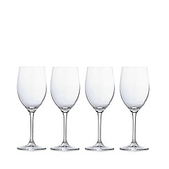 J by Jasper Conran - Set of four designer 'Audley' small wine glasses