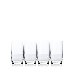 J by Jasper Conran - Designer set of four 'Audley' high ball glasses
