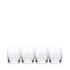 J by Jasper Conran - Designer set of four 'Audley' tumbler glasses