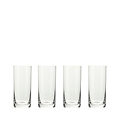 J by Jasper Conran - Designer set of four 'Belgravia' hi-ball glasses