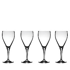 J by Jasper Conran - Designer 'Delaney' set of four red wine glasses