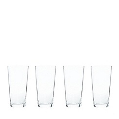 J by Jasper Conran - Designer 'Delaney' set of four hi-ball glasses