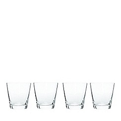 J by Jasper Conran - Designer 'Delaney' set of four tumbler glasses