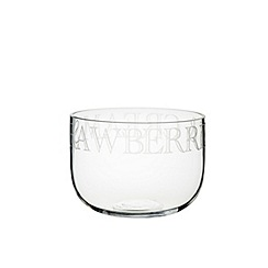 Masterclass - 'Strawberries & Cream' Artesa glass serving bowl