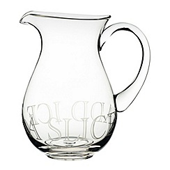 Masterclass - 'Just Add Ice' Artesa glass pitcher