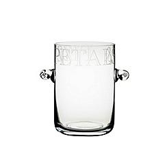 Masterclass - Petals & Fizz' Artesa glass champagne ice bucket