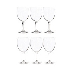 Home Collection Basics - Set of 6 wine glasses