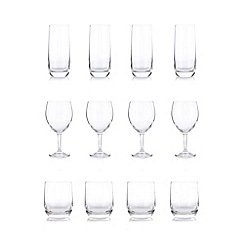 Home Collection Basics - Glass 12 piece set