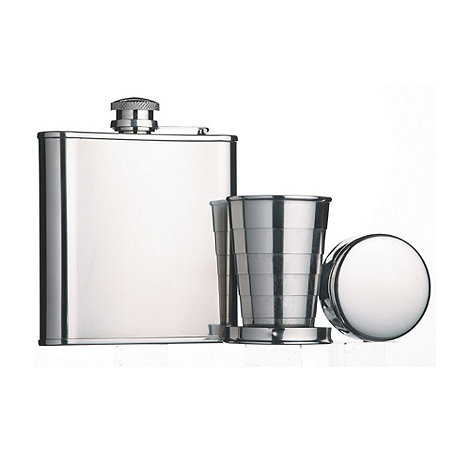 Barcraft - Hip flask & cup