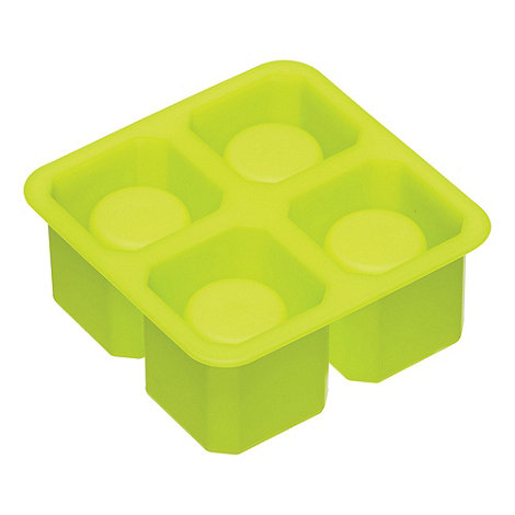 Barcraft - Bright green silicone shot glass ice mould