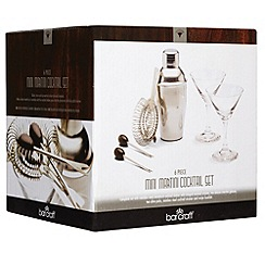 Barcraft - Luxe Lounge 6 piece martini set