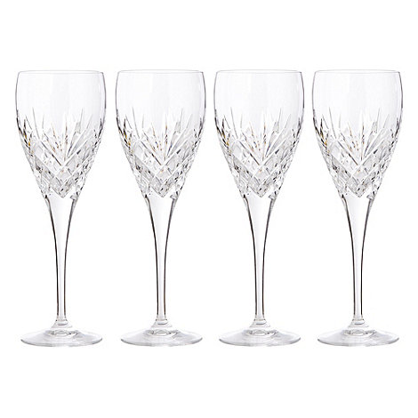 Debenhams - Set of four +Castalia+ large wine glasses
