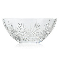 Debenhams - 24% lead crystal 'Castalia' large bowl