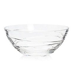 Home Collection - Hand cut 'Aria' glass bowl