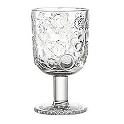 Leonardo - Fiorita wine glass clear