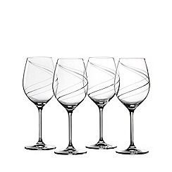Royal Doulton - Helix red wine glass boxed set of 4
