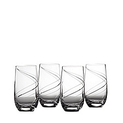 Royal Doulton - Set of 4 crystalline 'Helix' highball glasses