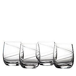 Royal Doulton - Helix tumbler glass boxed set of 4