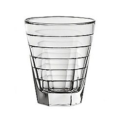 Vidivi Glass made in italy - 'Ego Baguette' box of 6 glass tumblers