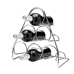 Hahn - Pisa 6 bottle pyramid wine rack