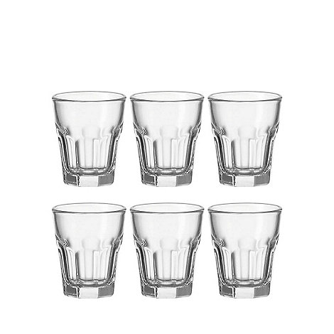 Leonardo - Set of 6 +Rock+ shot glasses