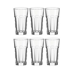 Leonardo - Pack of six 'Rock' hi-ball glasses
