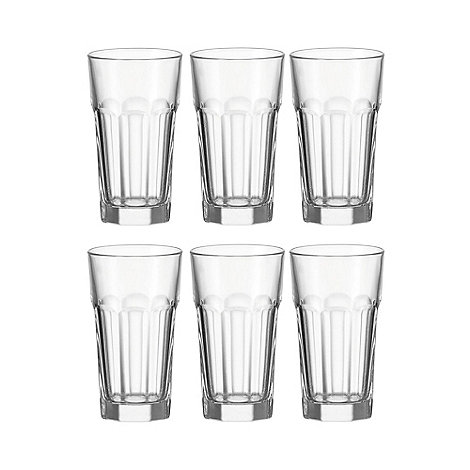Leonardo - Set of 6 +Rock+ highball glasses